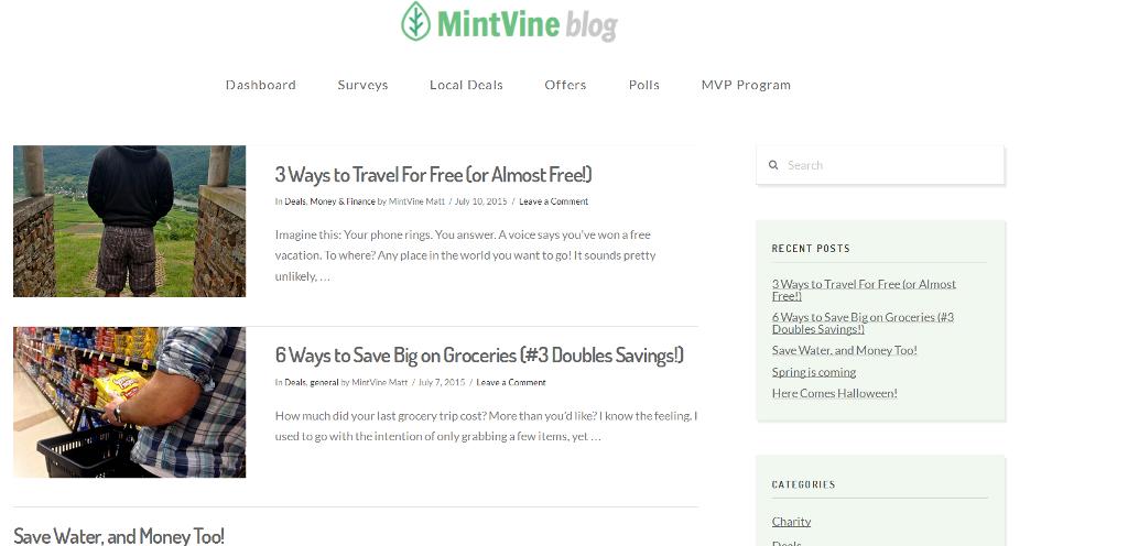 mintvine blog