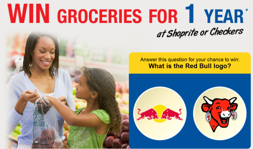 win 1 year groceries with checkers scam