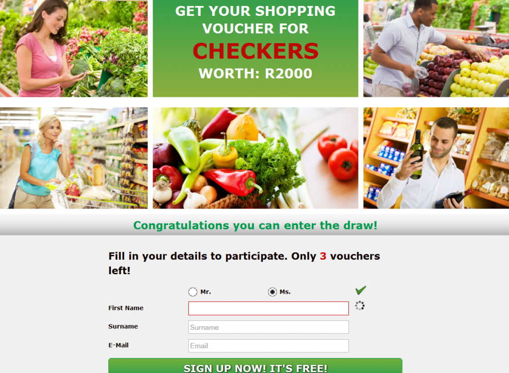 Mintvine win R2000 checkers shopping voucher