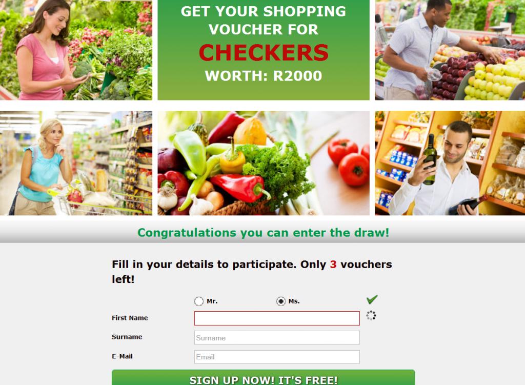 Mintvine win R2000 checkers shopping voucher