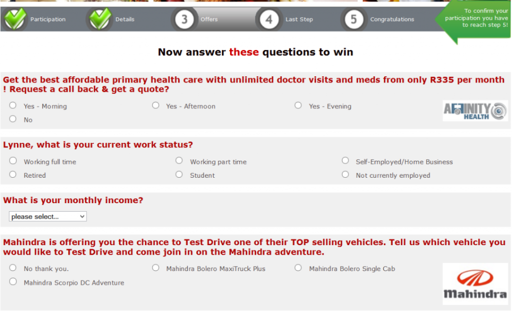 skanky survey questions