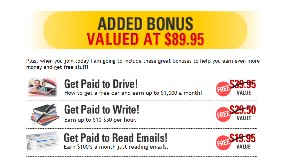 added benefits get cash for surveys