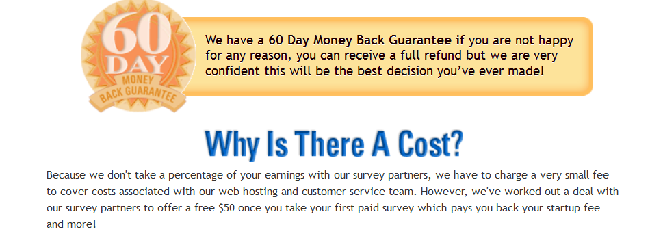 get cash for surveys refund policy