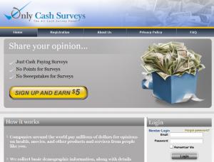 Only Cash surveys home