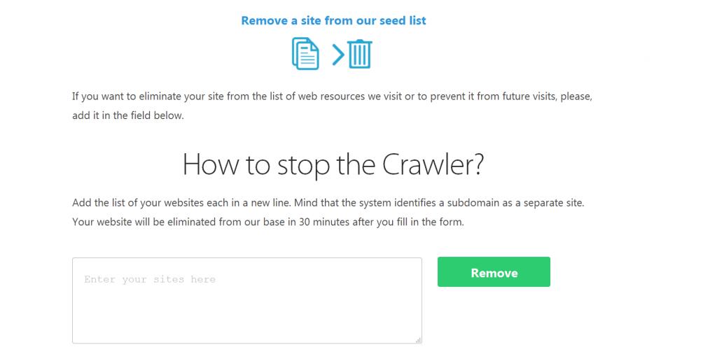 The Semalt Crawler