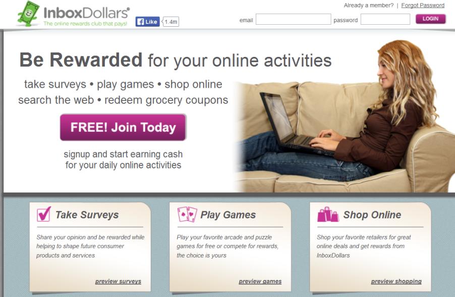 Inbox Dollars Offers