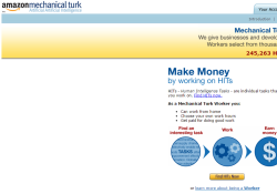 amazon mechanical turk review