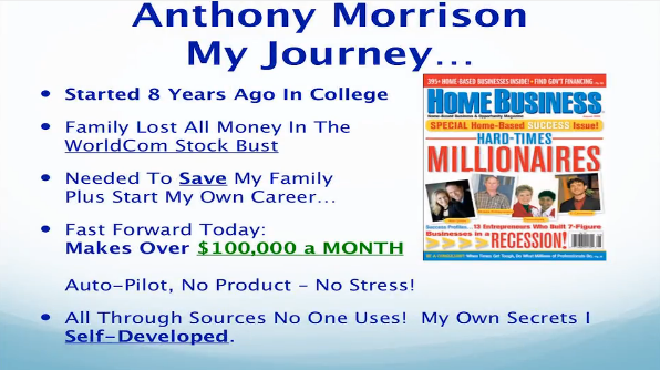 Who is Anthony Morrison