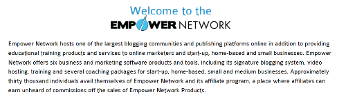 What is Empower Network blog