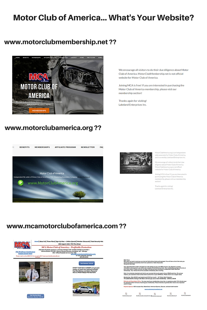 what is motor club of america
