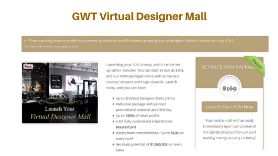 GWT Virtual Designer Mall