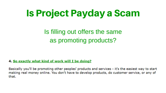 Is Project Payday a Scam