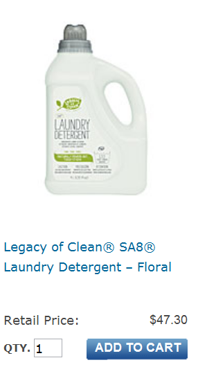 Amway products laundry detergent