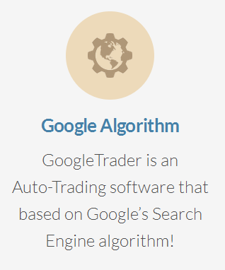 Google Trader Google search engine algorithm