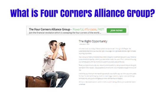 What is Four Corners Alliance Group