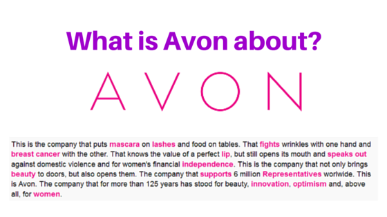 What is Avon about