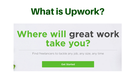 What is Upwork about