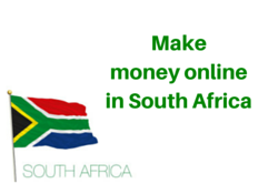 how to make money online from south africa