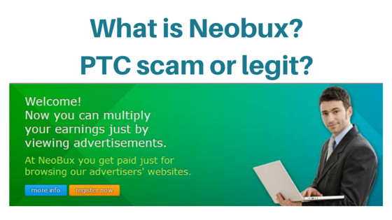 What is Neobux about? Ptc Scam?