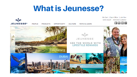 What is the Jeunesse opportunity