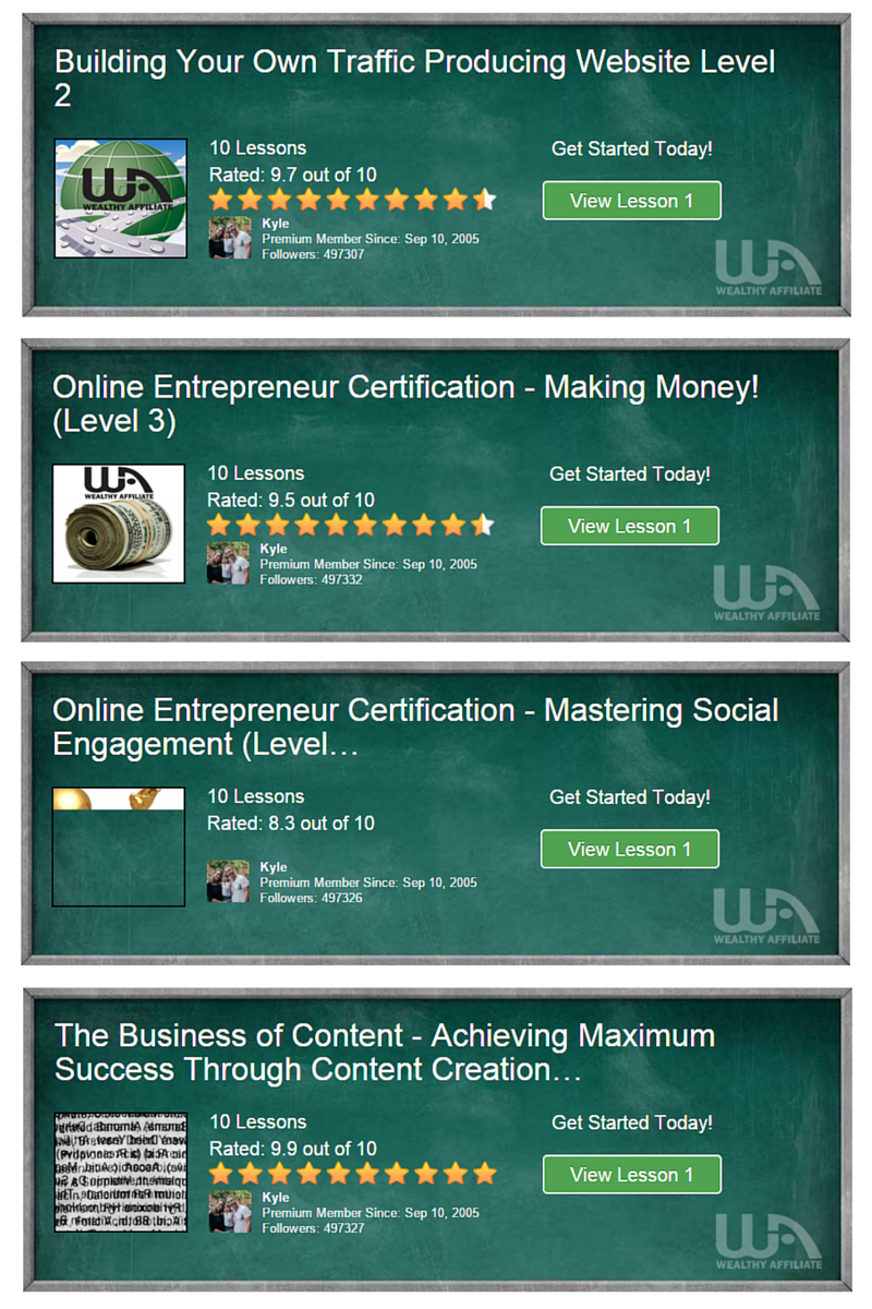 Premium Membership Online entrepreneur certification