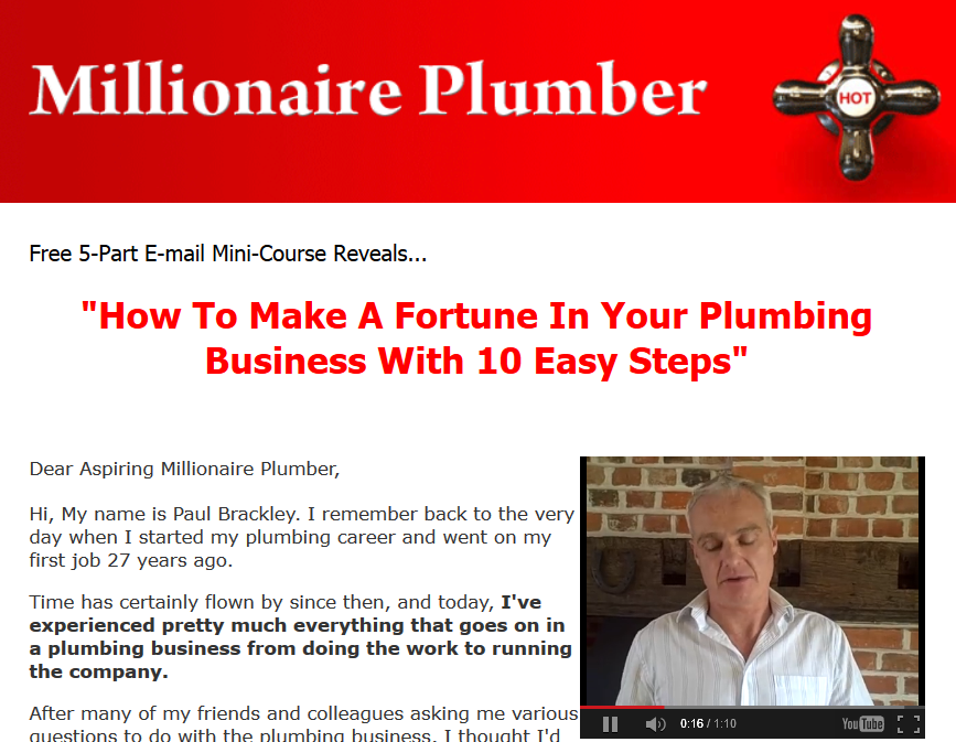 step on how to become a qualififed plumber