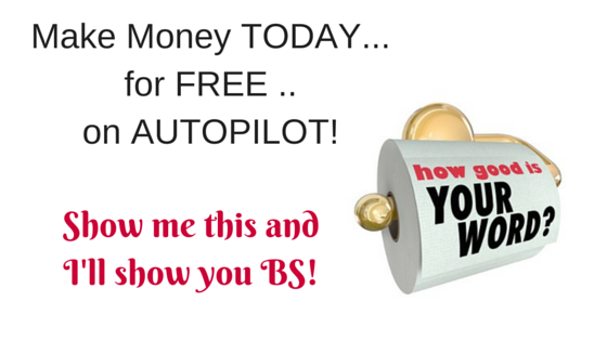 Make Money today for free on autopilot