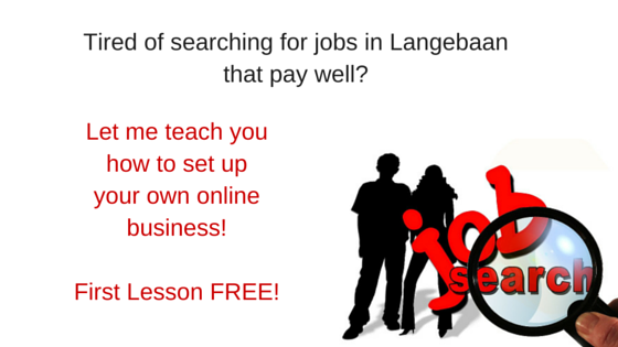 Searching for Jobs in Langebaan