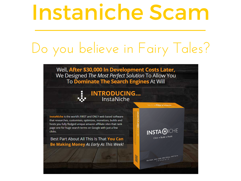Is Instaniche a scam or legit