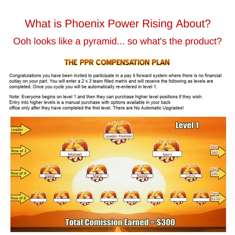 what is phoenix power rising about