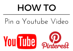How to Pin a Youtube Video to Pinterest