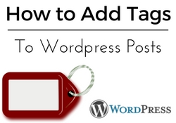 How to add tags to Wordpress posts