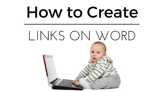 Create Hyperlink Word