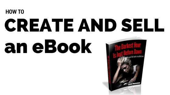 How to create and sell an ebook online