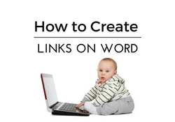 How to Create Links on Word