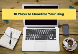 10 Way How to make money with blogging
