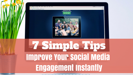 Improve social media engagement