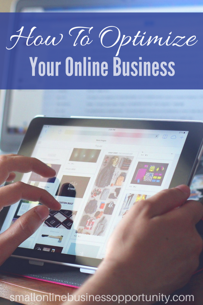 How to optimize your online business pinterest