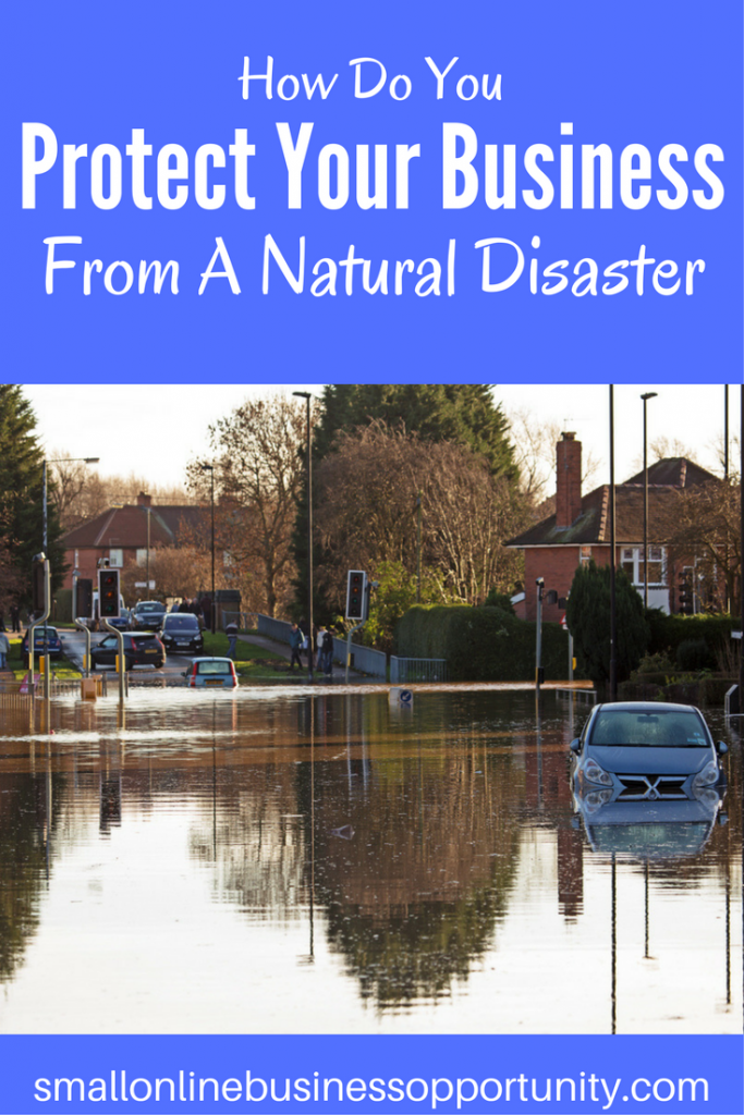 Protect your business natural disaster