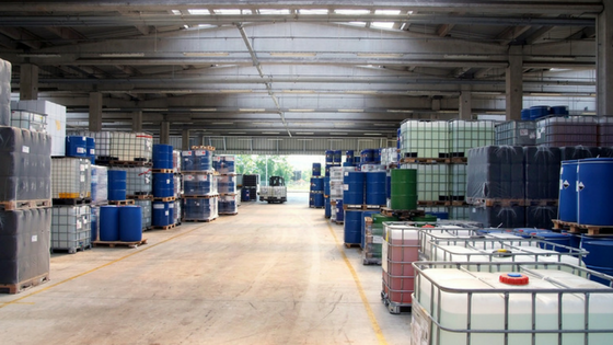 Costs in warehouse