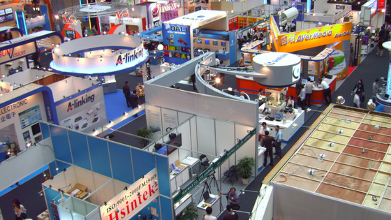 Make an impact at trade show