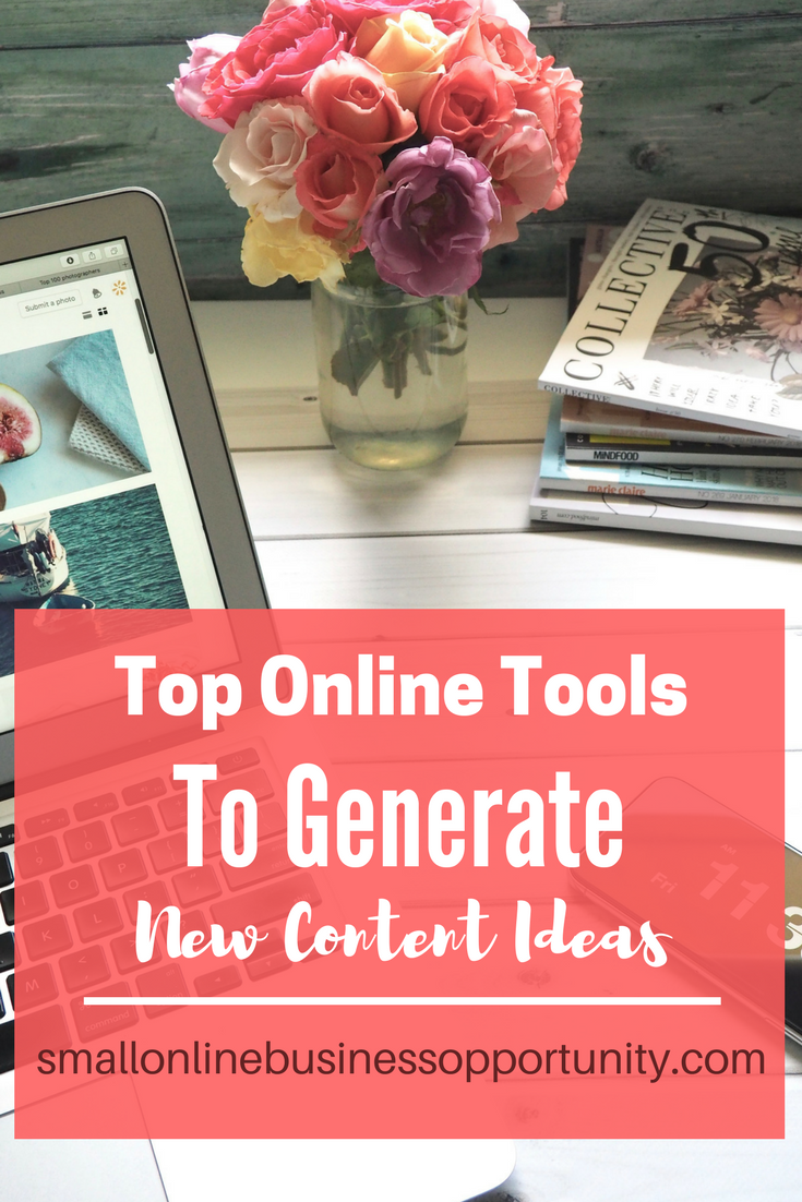 Top Online Tools To Generate New Content Ideas