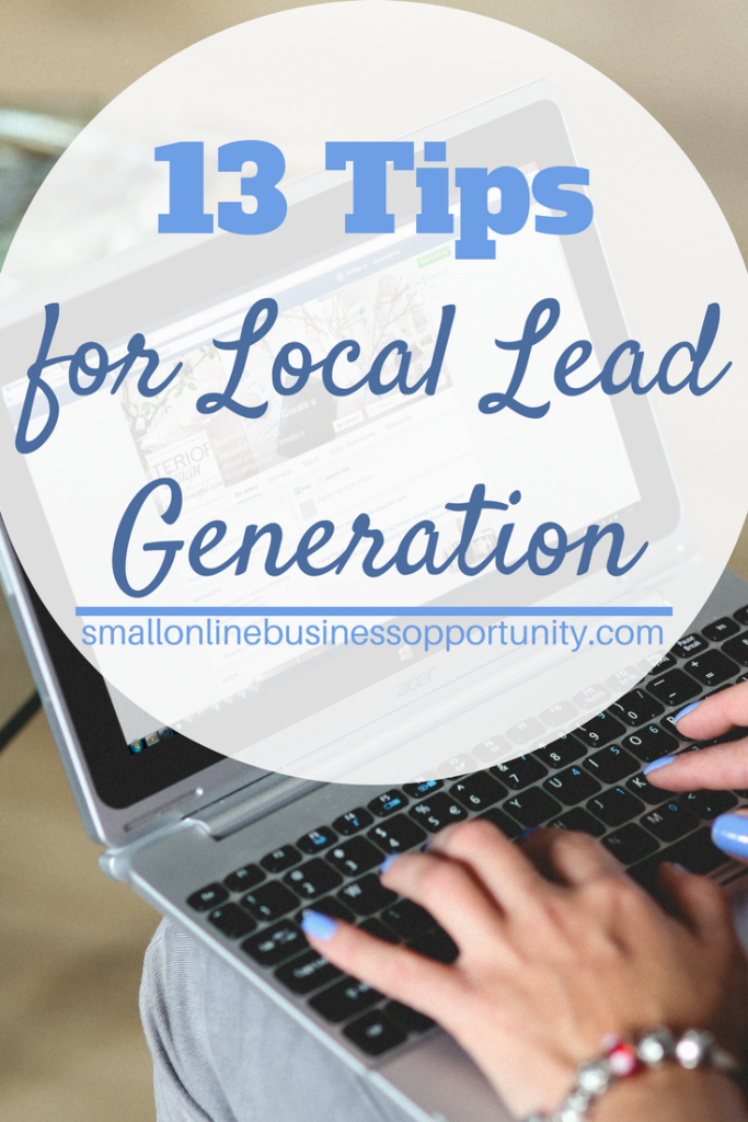 13 Tips For Local Lead Generation