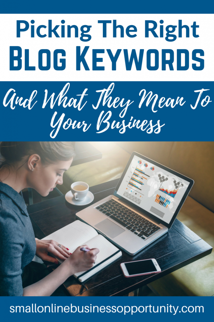 Picking The Right Blog Keywords and What They Mean For Your Business