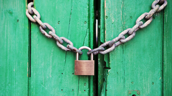 Green padlock security
