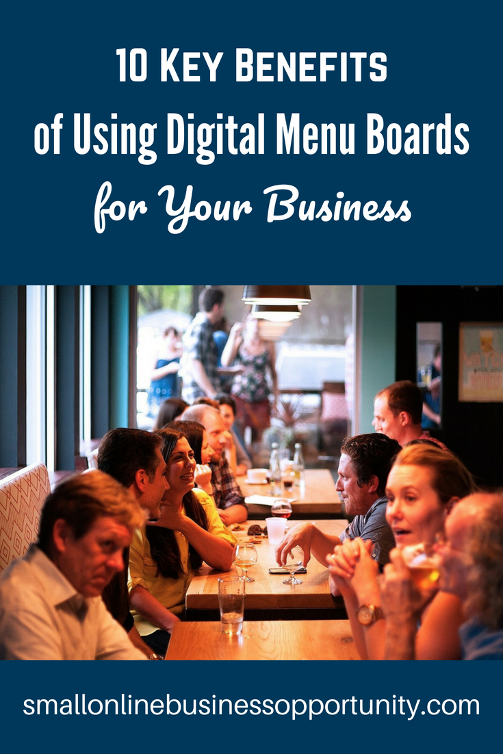 10 Key Benefits Of Using Digital Menu Boards for your Business