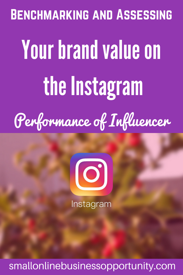 bemchmarking and assessing your brand value on the instagram performance of influencer