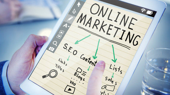 Online marketing seo ipad