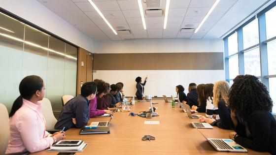 speaker boardroom people