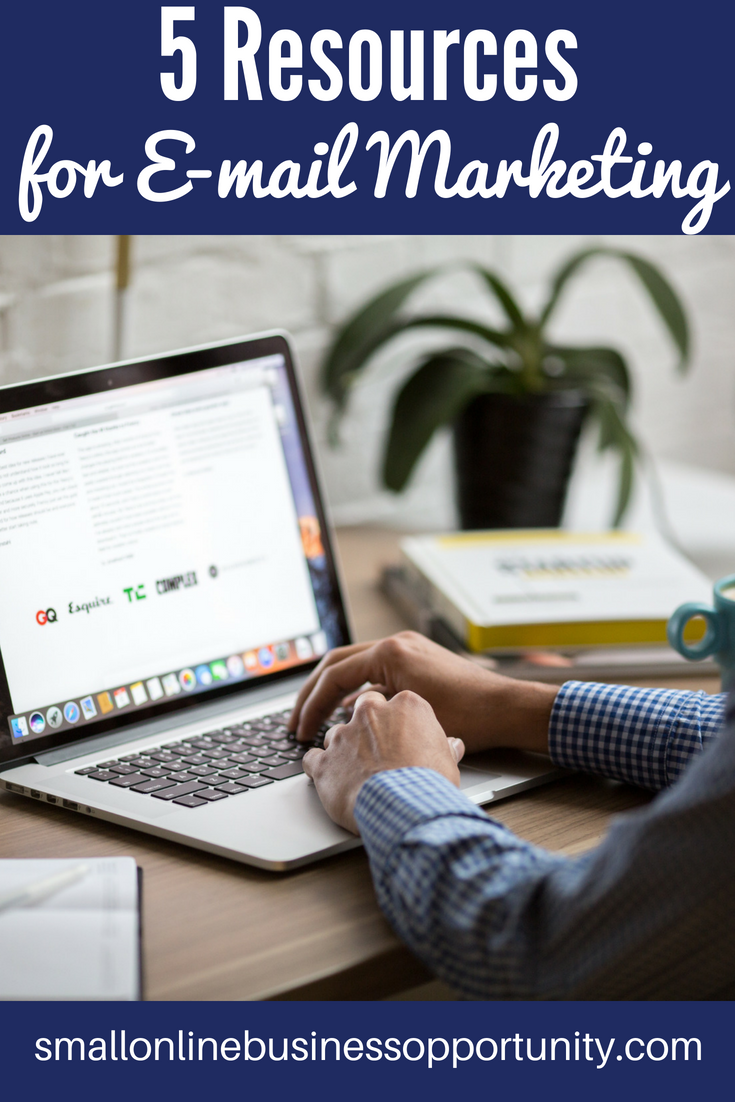 5 resources for e-mail marketing